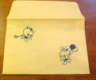 レトロ封筒1
