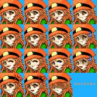 オレンジミカンface