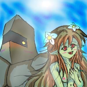 ヘビゴ&アルラウネ