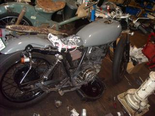 OさまSR400 20110128 001
