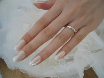 花嫁のネイル