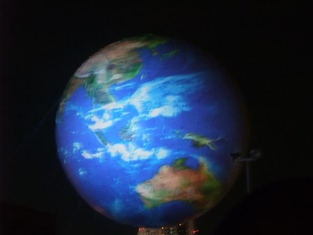 こんな地球のようなものが上がりました2