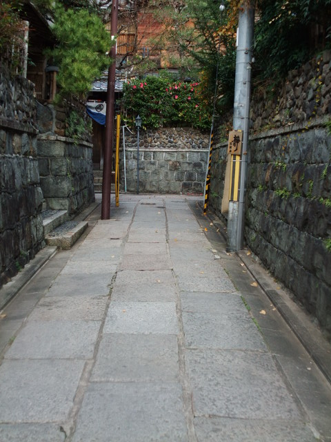 京都の小道