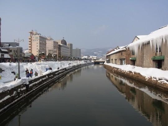 燈 小樽運河22