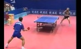 【卓球】 松下浩二のカット攻撃スーパープレー集