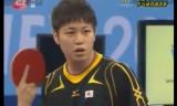 【卓球】 ユニバーシアード2011 閻安VS笠原弘光1