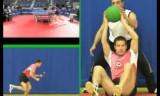卓球にふさわしいトレーニング映像1