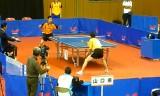 【卓球】 最新!山口国体卓球 有延VS丹羽の練習風景