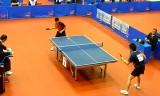【卓球】 最新!山口国体卓球 準決勝試合前練習