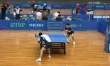 【卓球】 貴重!田崎 VS セン健 (日本リーグ大阪)