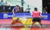 【卓球】 女子ワールドカップ2011 初日プレー映像集