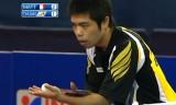 【卓球】 アジアヨーロッパ対抗戦2011 荘智淵VSマテネ