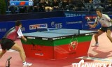 【卓球】 アジアヨーロッパ対抗戦2011 許VSサムソノフ