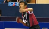 【卓球】 アジアヨーロッパ対抗戦2011 唐鵬VSマテネ