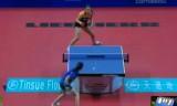 【卓球】 ワールドチームカップ2011 イレーネVS帖雅娜