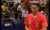 【卓球】 ワールドチームカップ2011 許VSシュテガー