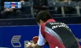 【卓球】 アジアヨーロッパ対抗戦2011 ガオニンVSスミノルフ