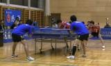 【卓球】 日本リーグ後期2011 森田/軽部VS池口/有田