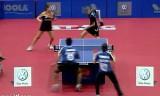 【卓球】 世界ジュニア選手権2011 背面打ち炸裂!