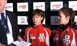 【卓球】 ITTFグランドファイナル2011 石川佳純のインタビュー1