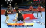 【卓球】 ITTFグランドファイナル2011 福原/石川VS郭躍/李暁霞1