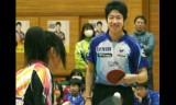 【情報】 男子五輪代表の水谷は被災中学校で卓球教室