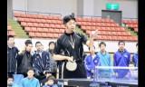 【情報】 松下浩二さん敦賀で卓球指導!生徒は夢中