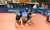 【卓球】 USオープン2011 ダブルス水野塩野組