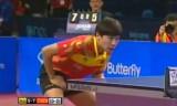 【卓球】 イングランドオープン2011 馬琳VS陳杞