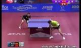 【卓球】 カタールオープン2011 ティモボルVS許