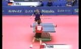【卓球】 世界選手権2001 孔令輝(中国)VSティモボル