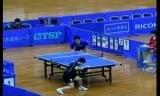 【卓球】 昔の日本卓球リーグ映像☆田崎俊雄VS韓陽