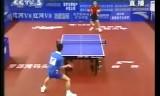 【卓球】 中国超級リーグ 松下浩二(カット)VS張洋