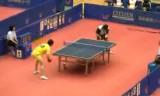 【卓球】 日本リーグ 韓陽VS松下浩二(1~2セット目)