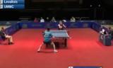 【卓球】 ヨーロッパチャンピオンズリーグ2011 荘智淵(台湾)VSシバエフの対戦!