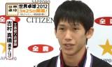 【卓球】 全日本2012 水谷吉村試合後インタビュー
