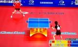 【卓球】 石川佳純のロビング打ちを見てみよう!