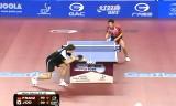 【卓球】 朱世赫 VS フランジスカ カタールオープン2012