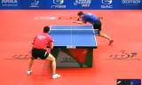 【卓球】 ガオニンVSロレンツ ハンガリーオープン2012