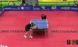 【卓球】 トキッチ VS ハベンソン ECL 2012