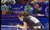 【卓球】 日本女子VSシンガポール アジア選手権2012