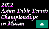 アジア選手権2012 2012年2月23日~3月1日 マカオで開催