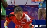 【卓球】 劉詩文VSユーモンユー アジア選手権2012