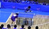 【卓球】 平屋広大VS加藤悠二1 関東学生リーグ2010
