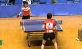 【卓球】 松平志穂 VS 高瑜瑶 東京選手権2012女子