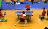 【卓球】 松平志穂VS高瑜瑶5/6 東京選手権2012女子