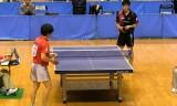 【卓球】 町飛鳥 VS 大矢英俊2/5 東京選手権2012