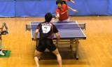 【卓球】 町飛鳥 VS 大矢英俊1/5 東京選手権2012