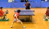 【卓球】 町飛鳥 VS 大矢英俊4/5 東京選手権2012