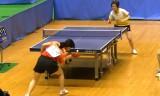 【卓球】 森薗美咲 VS 亀崎遥2/2 東京選手権2012